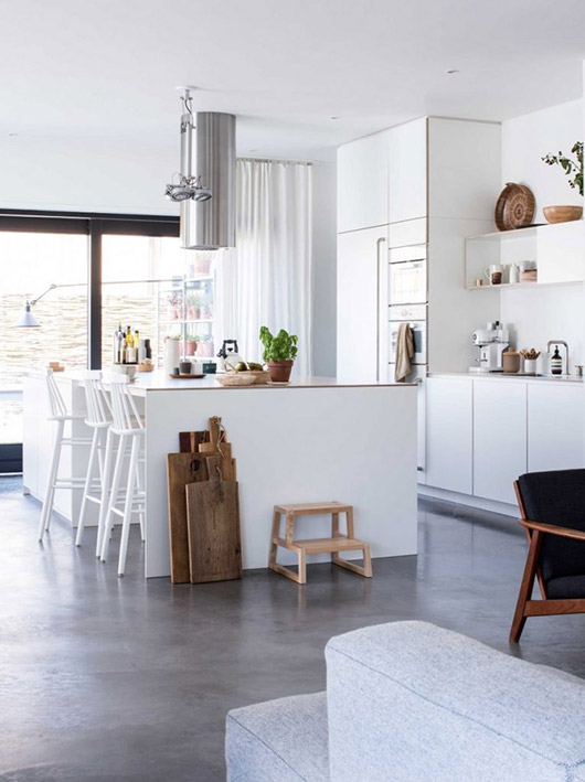 scandinavian inspired kitchen design. / sfgirlbybay