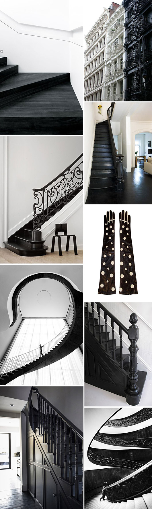 black and white home decor and accessories. / sfgirlbybay