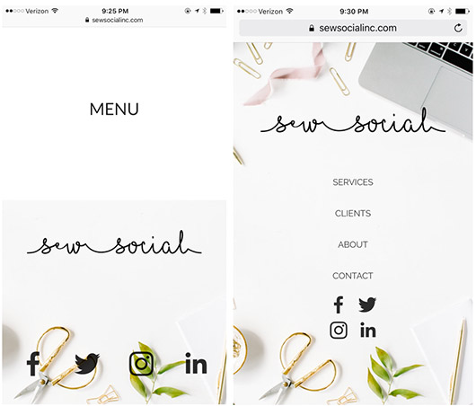sew social inc. website designed with squarespace. / sfgirlbybay