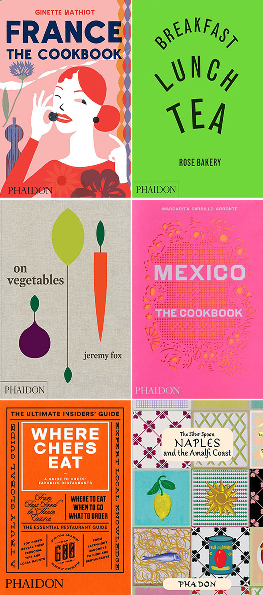 my favorite phaidon cookbooks / sfgirlbybay