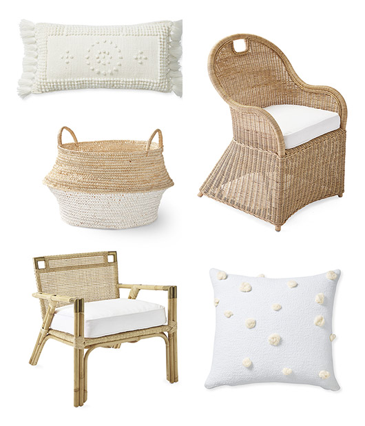 spring home goods from serena & lily l.a. / sfgirlbybay
