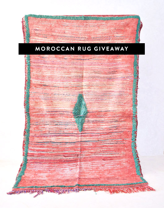 The Sunny Side & Co. rug giveaway. / sfgirlbybay