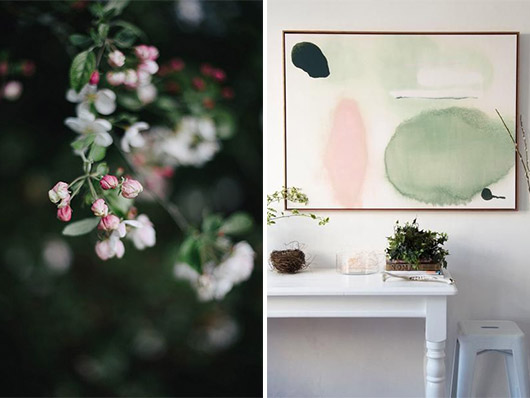 art and floral inspriation for spring. / sfgirlbybay