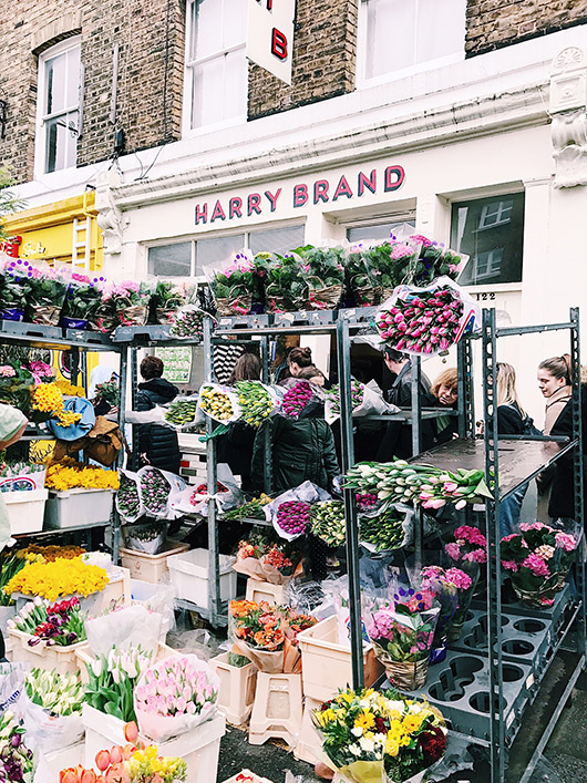 Harry Brand flower market. / sfgirlbybay