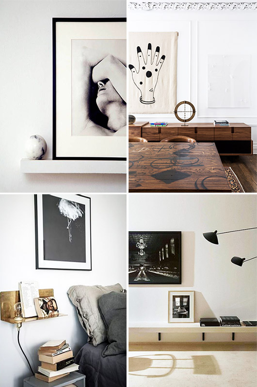 black and white minimalist art prints. / sfgirlbybay