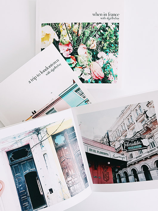 turning my travel instagrams into a book with artifact uprising. / sfgirlbybay