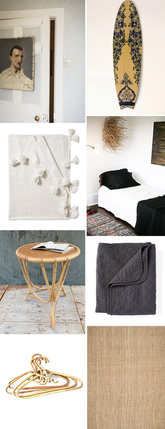 decor inspiration for my guest bedroom. / sfgirlbybay