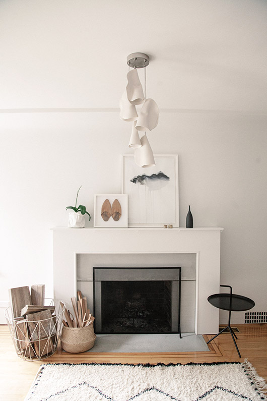 at home with the co-founder of Twenty One Tonnes, / sfgirlbybay