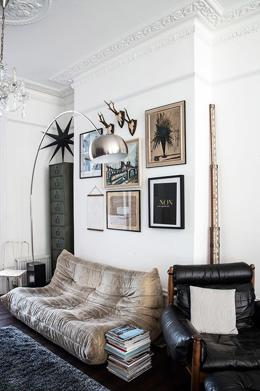 interior decor via mademoiselle poirot. / sfgirlbybay