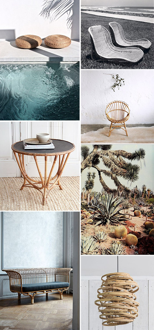 woven home decor and furnishings. / sfgirlbybay
