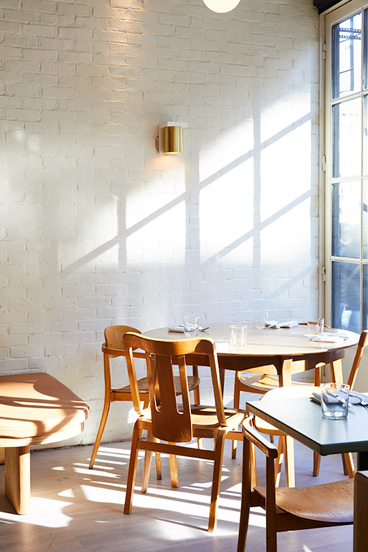 sunlight dining room at de maria. / sfgirlbybay