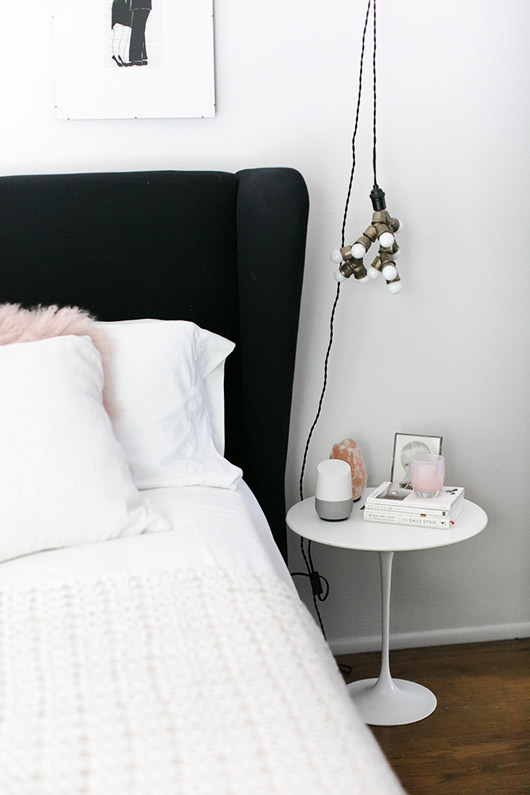 good home on bedside table. / sfgirlbybay