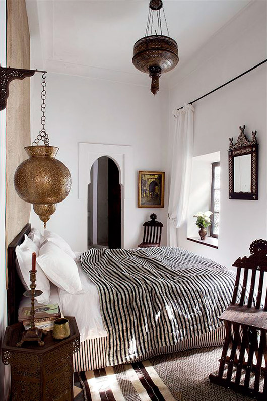 moroccan bedroom decor inspiration. / sfgirlbybay