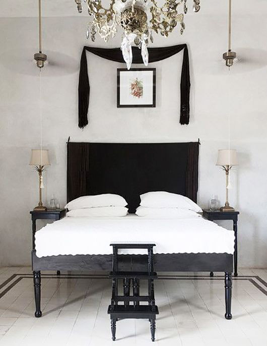 black and white bedroom decor inspiration. / sfgirlbybay