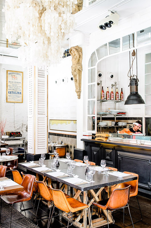 inspiring european restaurant decor. / sfgirlbybay