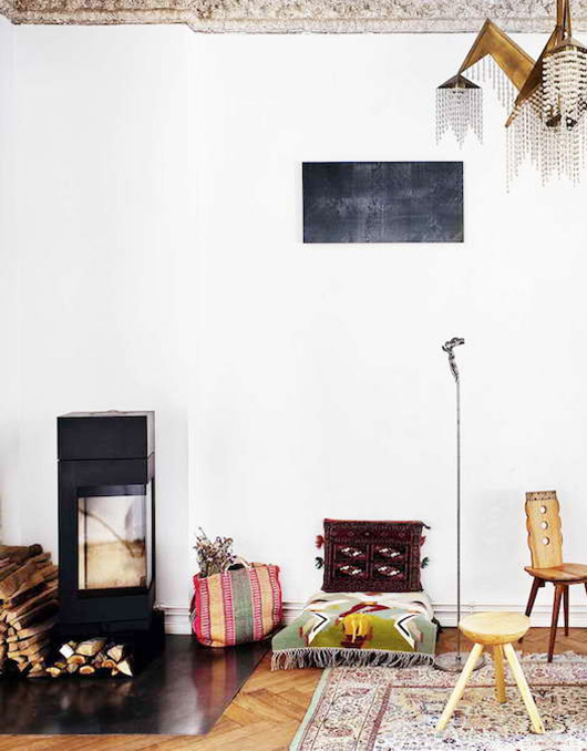 inspiring multi-cultural home in berlin. / sfgirlbybay