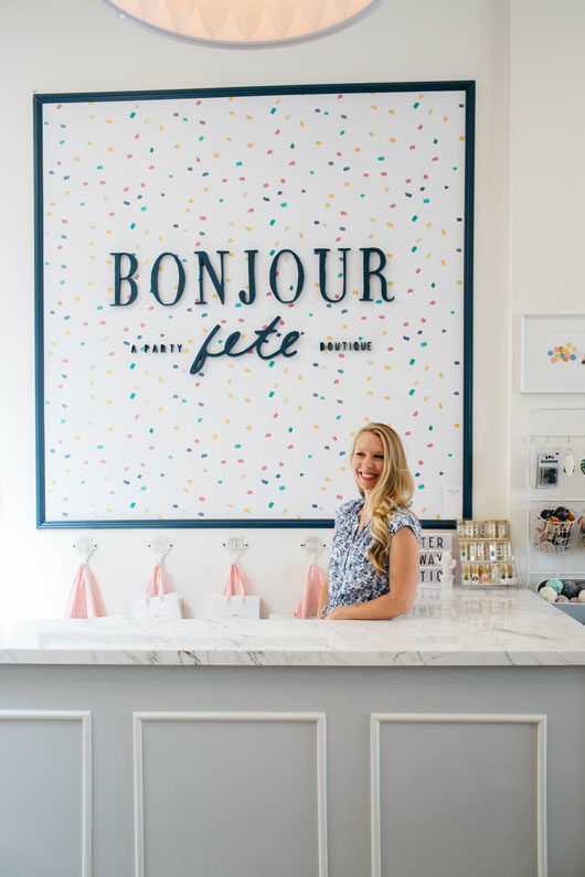 Bonjour Fête party supplies store. / sfgirlbybay