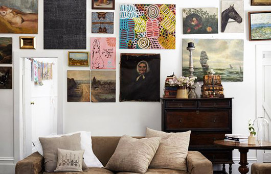 curated art collection. / sfgirlbybay