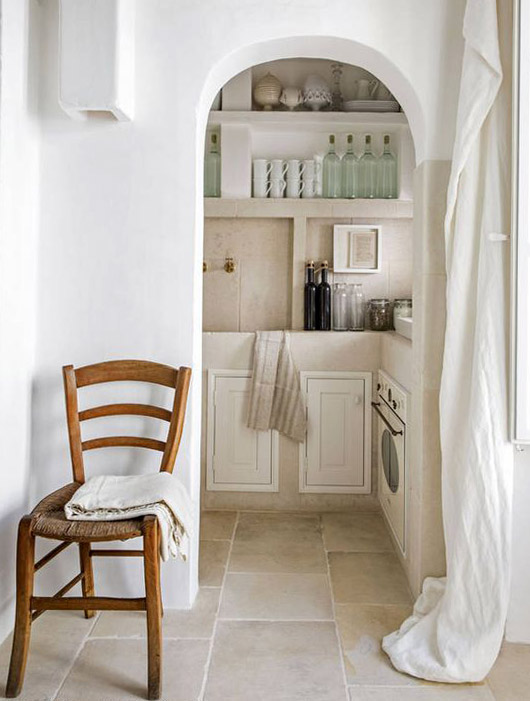 arched doorway in kitchen. / sfgirlbybay