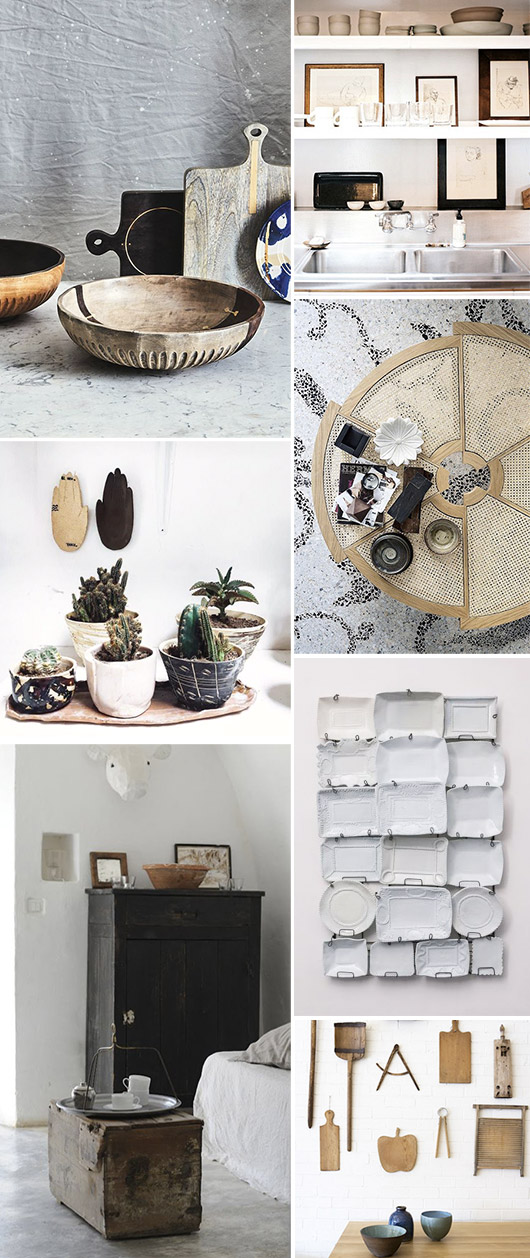 inspiring collections of ceramic dishes. / sfgirlbybay