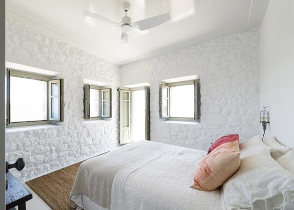 white bedroom inspiration via Sterna Nisyros Residence. / sfgirlbybay
