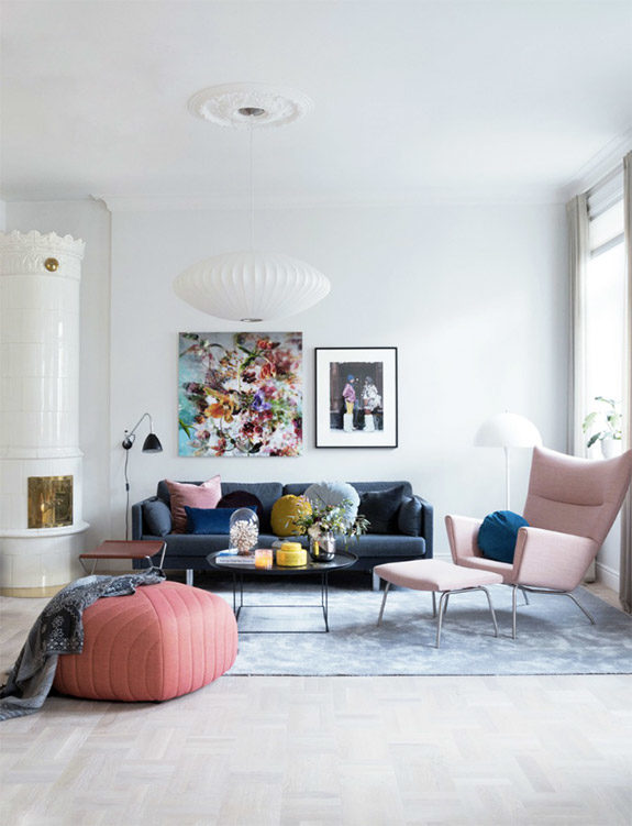 inspiring apartment in oslo featured in rue magazine. / sfgirlbybay