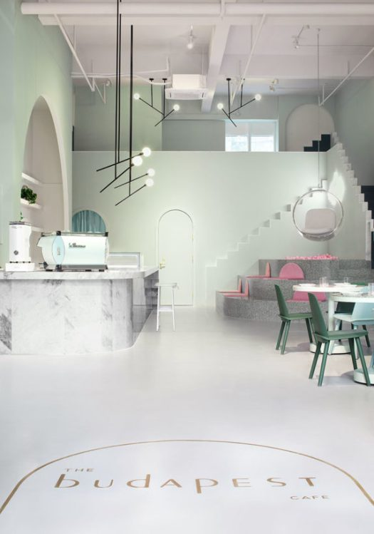 the budapest cafe in china. / sfgirlbybay