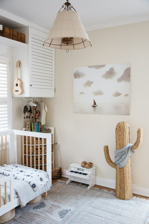 kids room in creative director whitney leigh morris' tiny canal cottage. / sfgirlbybay