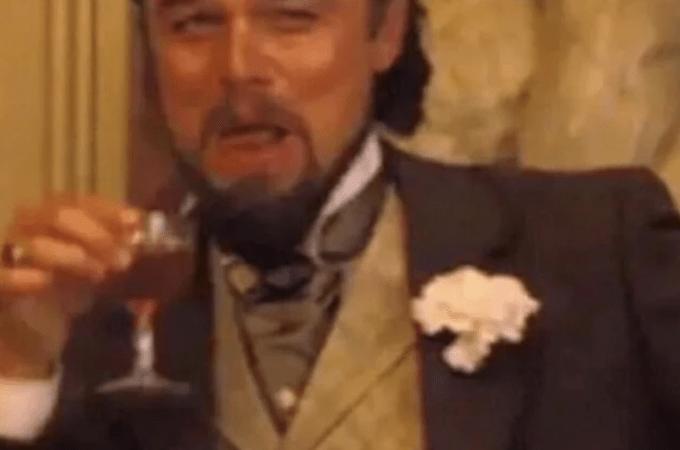 Leonardo DiCaprio meme Laughing: la spiegazione