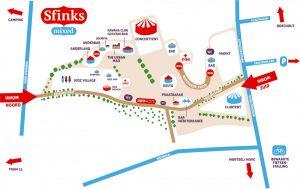Grondplan Sfinks Mixed 2014