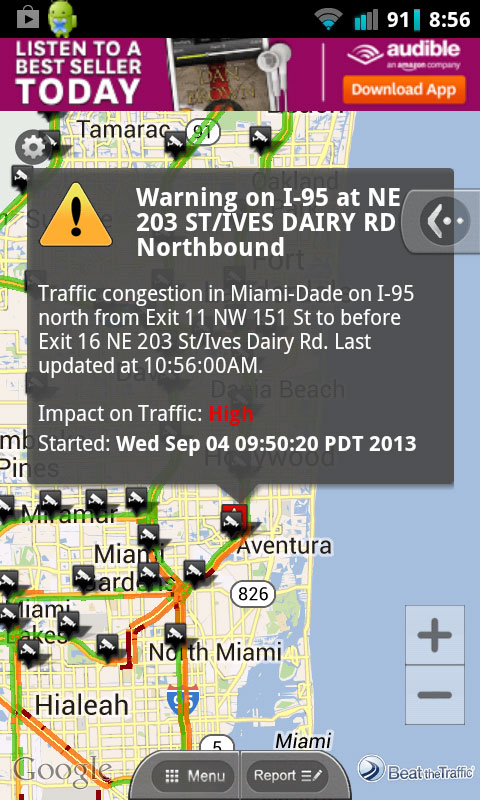 WSVN Releases Weather and Traffic Tracker App - SFLTV