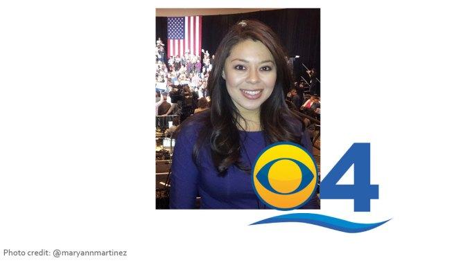 MaryAnn Martinez WFOR CBS 4 News reporter