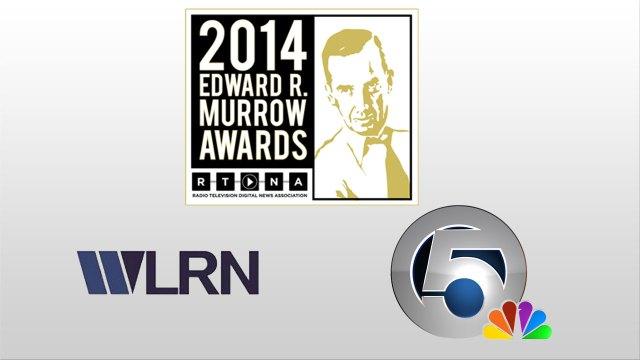 WPTV and WLRN Murrow Award Winners in 2014