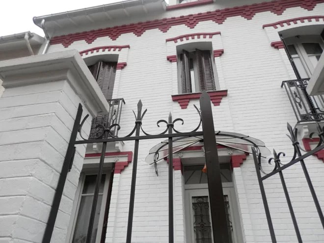 Marquise, grilles, portails et portes en fer