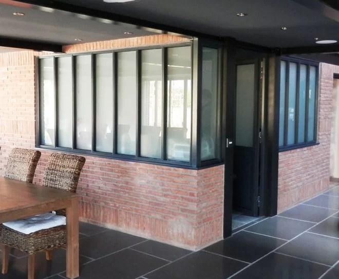 Aménagement intérieur métallique, Verrière d'artiste métal maison yvelines