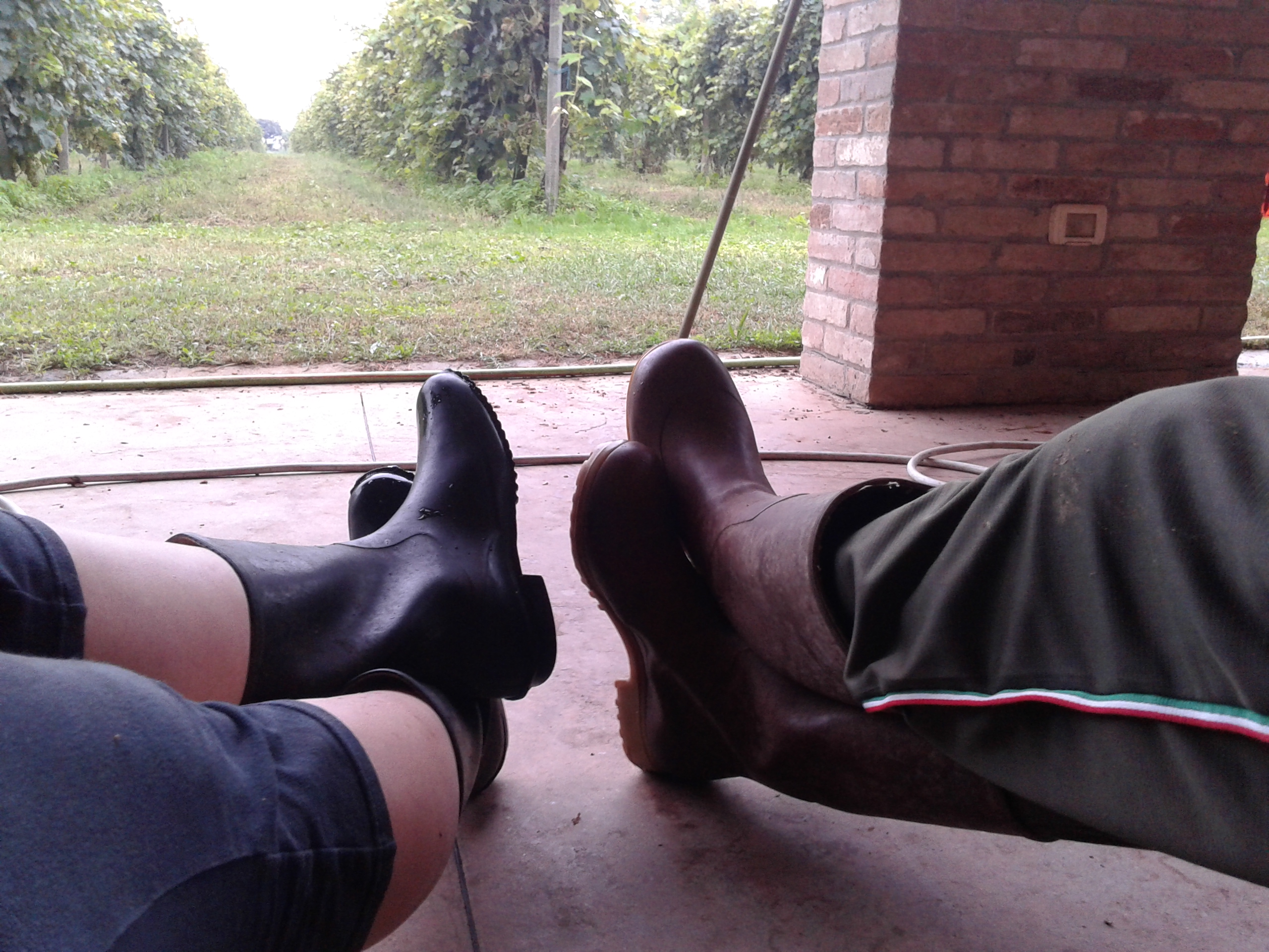 Reka and Pier's boots