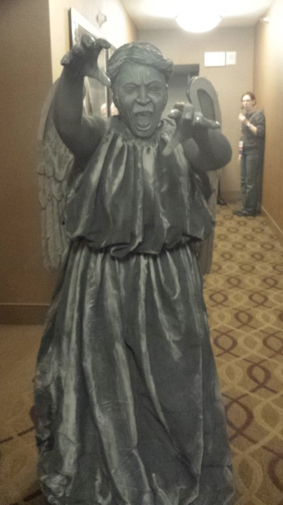 Weeping Angel Cosplay