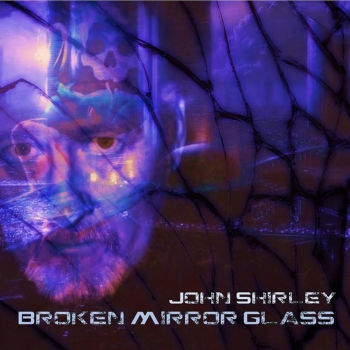 Broken Mirror Glass