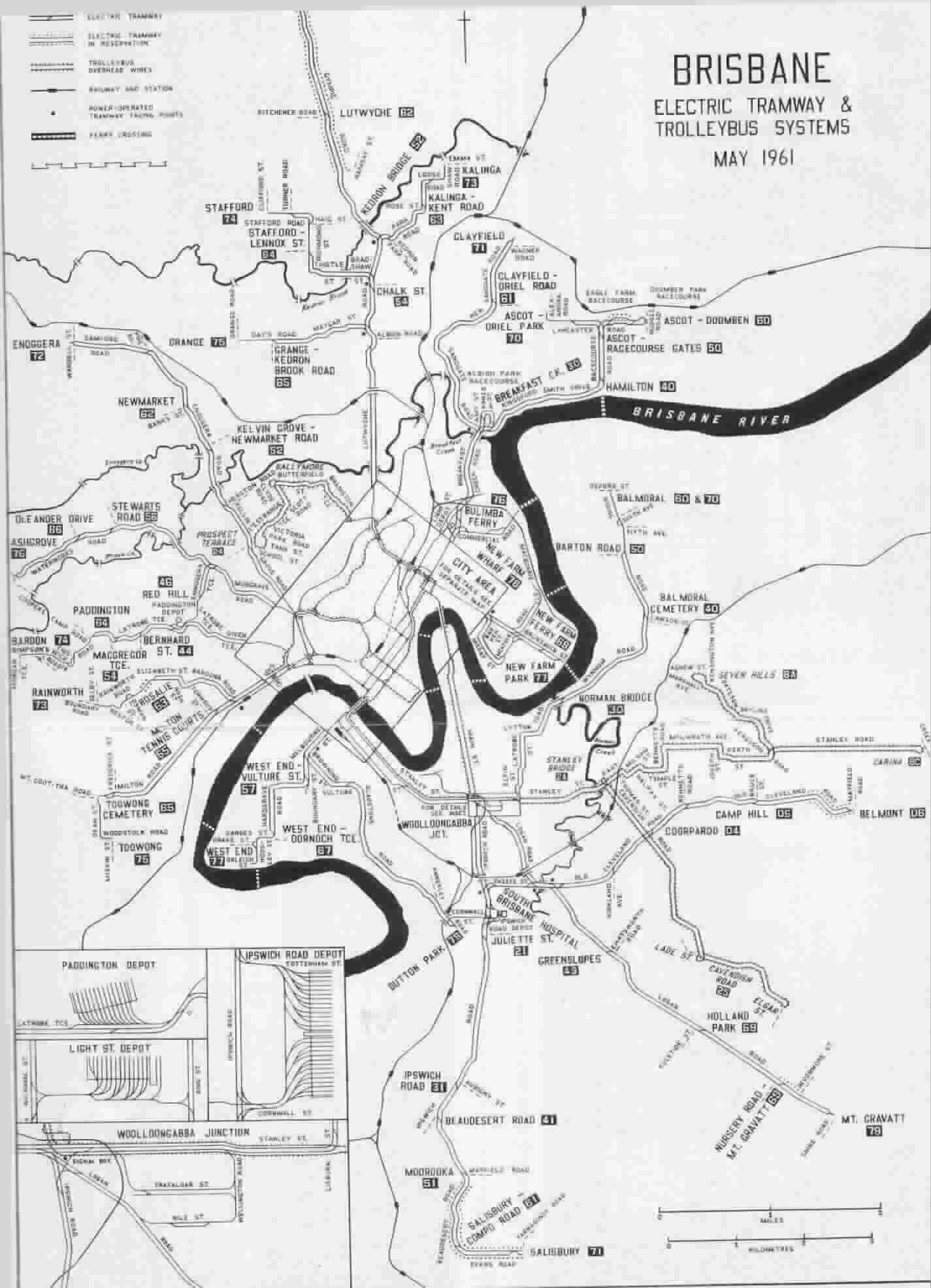 Trolleybus Route And Overhead Maps