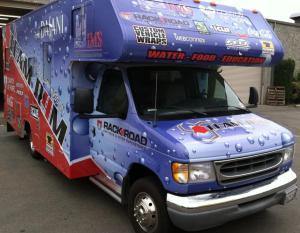 R4M Truck Wrap