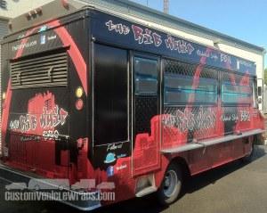 Rib Whip Food Truck Wrap
