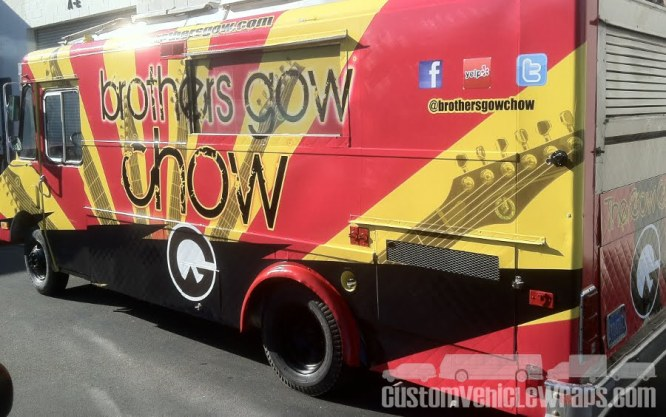 Brother's Gow - Food Truck Wrap