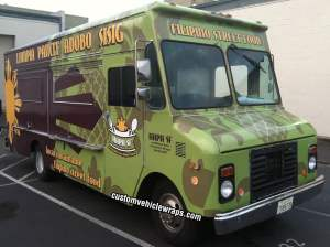 HAPA SF Food Truck Wrap