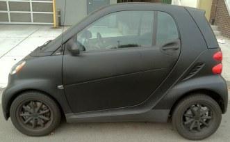 matte smart car
