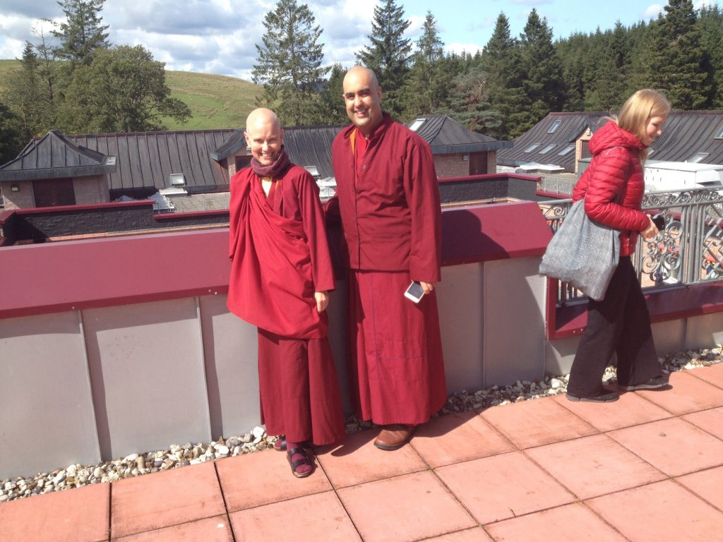 Gelong Thubten and Ani Lhamo