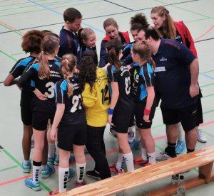 SG Mädels gewinnen auch den 3. Vergleich mit Mössingen
