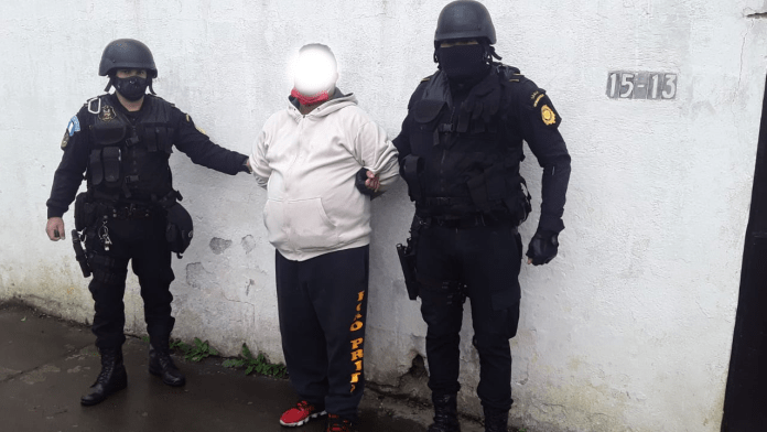 Detenido con Marihuana