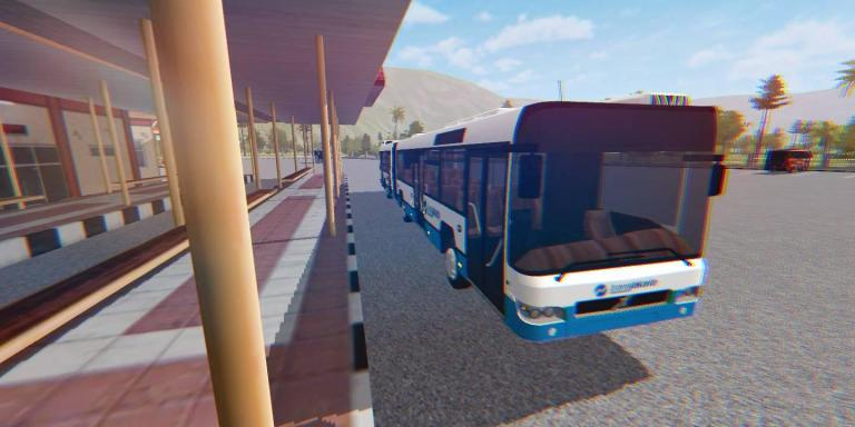 BUS DOUBLE Mod for BUSSID