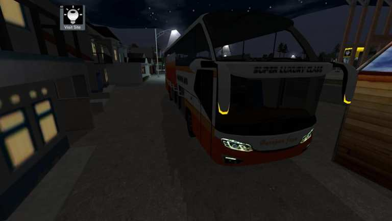 Avante Bus Mod for BUSSID