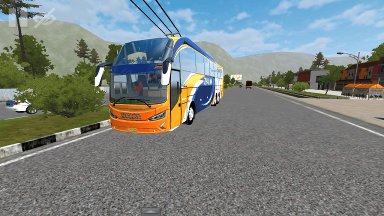 Evolander Vehicle Mod for Bus Simulator Indonesia